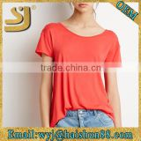 trends hot sale high quality ladies t shirt