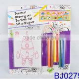 Happy baby toy have fun crayon coloring drawing toy set