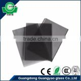 guangyao wtih CCC ISO9001 CE building construction material 8mm grey heat reflective glass windows