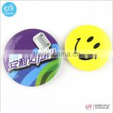 Guangzhou import and export tinplate badge custom smiley pin badge round badges