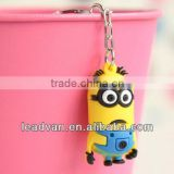 Cheap promotional gifts Wholesale PVC rubber Keychain,Children toys keychain cheap gifts