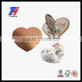 Customized book /cataloge /photo album/ photography /magazine printing heart shape wholesale