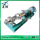 mini peristaltic pump submersible solar screw pump hydraulic screw pump used in solids control for drilling mud