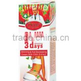 Organic no side effect weight lossing cream / 3 days slimming cream from china