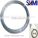 Chromel/Alumel 316L sheathed thermocouple cable
