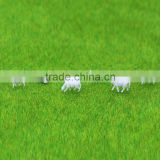 Architectural consumable model material of animal sheep white in different size