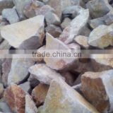 super class A high alumina bauxite ore raw meterial for ceramic sand use/aluminum-containing 70%-73% high bauxite clinker