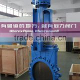 Ductile Iron Bevel Gear Knife Gate Valve