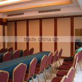 rooms acoustic dividers folding partition wall for hotels