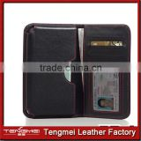 Genuine Leather Card Wallet Pouch Case for Samsung Galaxy S6 Edge