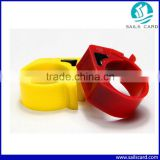Colorful Plastic Electronic RFID Racing Pigeon Ring