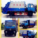 low price Dongfeng Rear Loader garbage Compactor Truck 13cbm compressed garbage truck 6 wheels garbage compactor trucks for Sale