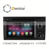 Ownice C200 Quad Core Android 4.4 up to android 5.1 Car GPS Navigation for Audi A4 S4 RS4 Support OBD2 3G DVR