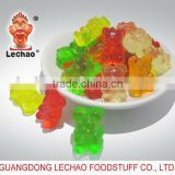 Colorful Fruity HALAL Gummy Bear Candy