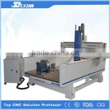 Plastic PVC Foam Board Cutting art and craft cnc router/3d wood cnc router With vacuum table