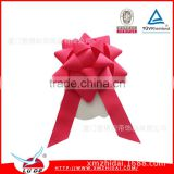 High quality make satin ribbon flowers Various material For Gift Packing Festival Decoration