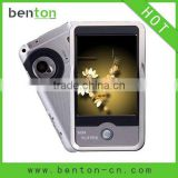 hot mp5 player touch screen camera 16gb player with DV function of cheap prices(BT-P309)