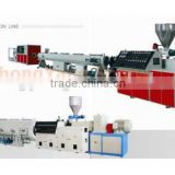 Pipe extrusion line SJZJ80/156 twin conical extruder machine for PVC pipe/profile/sheet extrusion