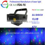 Mini laser stage light projector with LED