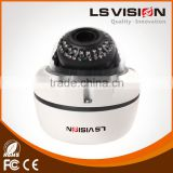 LS VISION 2MP H.264 Low lux WDR IR Outdoor IP Dome Camera 35pcs High energy IR leds support POE