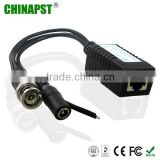 BNC(male) & DC (female) & Data 1 Channel Passive Video Balun Transceiver PST-VBP01PF