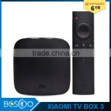 XiaoMi Mi tv box 3 4K Andriod5.0 Media Player Amlogic S905 1G/4G 64Bit Quad Core 2.4G/5G 802.11 AC WIFI lAN Bluetooth4.1 US Plug