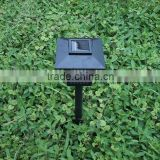 Square solar mosquito lamp, solar lawn lamp 2 leds