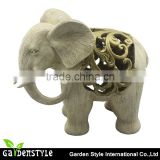 rohs led lights elephant Figurine light , new brand name led light, Resin material led light product