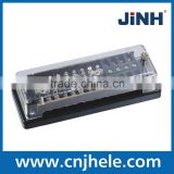Electric test terminal block for energy meter