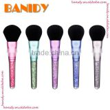Facial Mask Face Eyes Crystal Rhinestone Single Makeup Brush Cosmetic Beauty Soft Brush Tool
