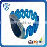 HIgh quality Flexible customized plastic uhf rfid wristband tags for park access control
