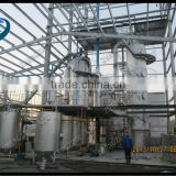 New designed cotton seed oil refinery machinery/edible oil refinery machinery for cleaning crude oil