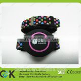 Customize high quality silicone wristband bracelet with ID chip
