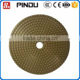 mini diamond abrasive grinding and polishing tool pad for grinding porcelain tiles