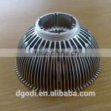 aluminum light radiator and other led light spare parts