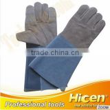 Hot Selling Safety Gloves,cow split leather work glove,leather welding gloves