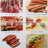 Edible collagen sausage casings