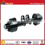 PHILLAYA Semi Trailer Air Suspension LOWBOY Axle landing leg Semi Trailer Parts Factory Price for Sale
