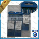 99.95% WP green Pure tungsten Welding Consumables