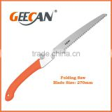 high carbon steel steel handle folding saw