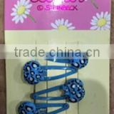 4PC BLUE LADYBARD HAIR PIN