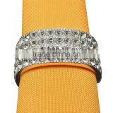 crystal beads napkin rings , bling bling napkin ring for wedding
