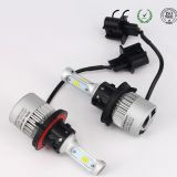 led car headlight S2 9005 9006 CSP 8000lm/set 72w/set led headlight 36w/bulb 4000lm/bulb lamp