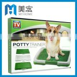 Puppy Potty Trainer Training Grass Patch Pad Toilet Mat