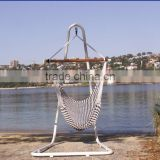 Outdoor hanging chair with stand hammock swing chair