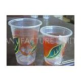 500ml Disposable Smoothie Cups For Bubble Tea , Sealing Film PP