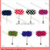 Hot vibrating tongue barbell ring body piercing jewelry in silicone and stainless steel bars