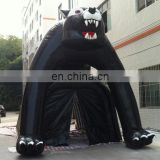 customize inflatable hamster mascot tunnel