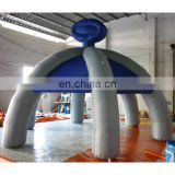 2015 inflatable blue tent in spider legs shape, inflatable party tent