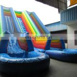 inflatable water slide/giant inflatable slide for adult
